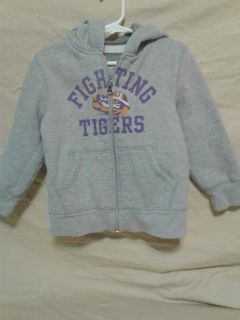 LSU Tigers jacket with hood. Size 4T. Meet in Angleton.