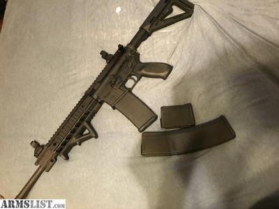 For Trade: Sig Sauer AR-15