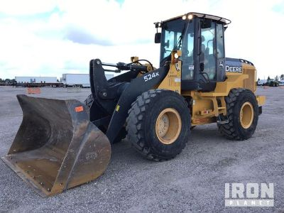 2015 (unverified) John Deere 524K Wheel Loader