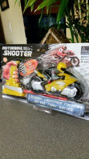 Brand New Motorbike Position & Launch! Trigger Launched Racers! Safety Floor Launch System. Street Rider Series.
