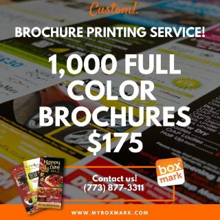 brochures of advertising agencies | Phone: (773) 877-3311