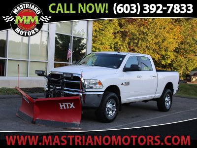 2016 RAM 2500 CUMMINS TURBO DIESEL ONLY 36,1 (White)