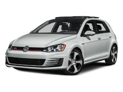 2016 Volkswagen Golf Gti SE (Black)