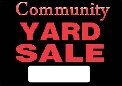 Large Community Yard Sale