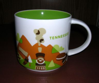"Starbucks ""You Are Here"" Series TENNESSEE Mug"