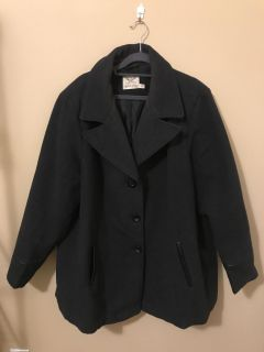 Like New Ladies Plus Size Winter Wool Coat. Slide left for add. pic. Size 3x