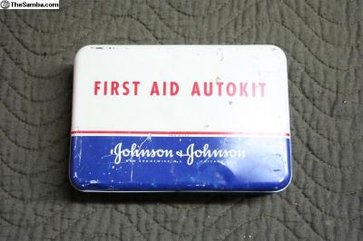 Johnson and Johnson Red Cross First Aid