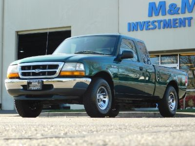 1999 Ford Ranger XLT (Amazon Green Clearcoat Metallic)