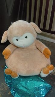 Lamb stuffed animal chair