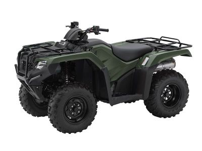 2016 Honda FourTrax Rancher 4x4 Automatic DCT Power Steering Utility ATVs Crystal Lake, IL