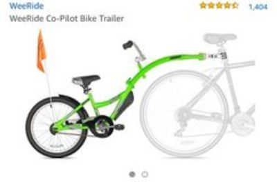 Used Co-Pilot Bike Trailer