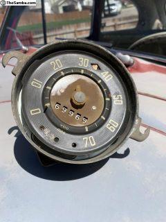 2/58 bus speedometer