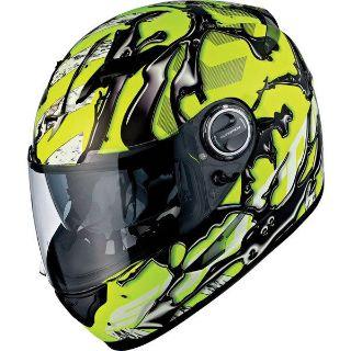 Purchase Yellow M Scorpion EXO EXO-500 Oil Full Face Helmet motorcycle in San Bernardino, California, US, for US $219.95