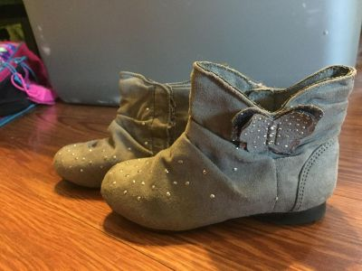 Adorable toddler girl boots