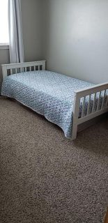 Wood Bed Frame - Twin