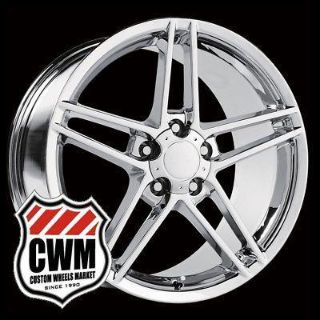 "Purchase 18x8.5""/19x10"" 2006 Corvette C6 Z06 Style Chrome Wheels Rims fit Camaro 1997 motorcycle in Grand Terrace, California, US, for US $799.00"