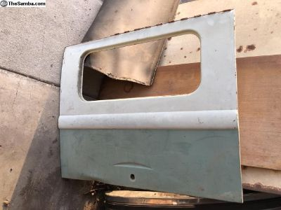 Bus original paint rear hatch Turquise 61-64