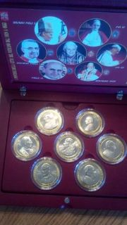 The Popes of the Vatican City coin collection