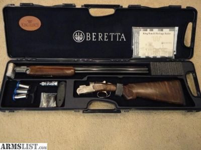 For Sale: Beretta 687 Silver Pigeon IV 20ga Kings Ranch