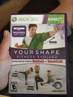Xbox 360 your shape fitness evolved - ppu (near old chemstrand & 29) or PU @ the Marcus Pointe Thrift Store (on W st)