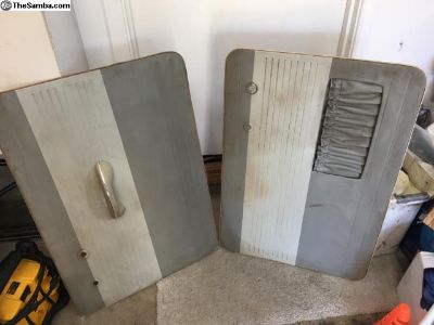 Original door panels from 62 bug