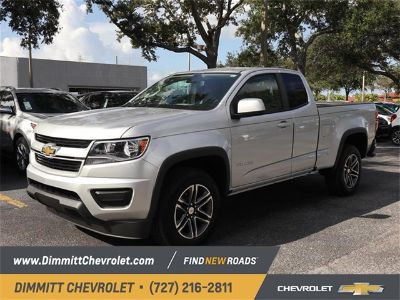 2019 Chevrolet Colorado Work Truck (Silver Ice Metallic)