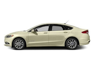 2017 Ford Fusion Hybrid SE (White Gold)