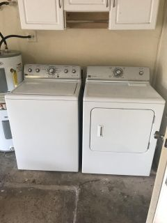 Maytag Centennial washer and dryer set