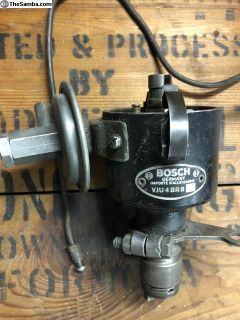 Early distributor with elusive vacuum line VJU4BR8