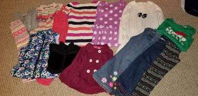 Girls size 7 and 7/8 clothing lot