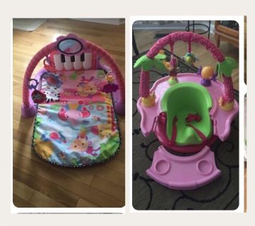 Activity mat and chair