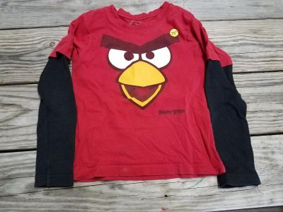 Angry birds 4t shirt