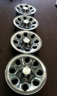 "Sell CHEVY SILVERADO / GMC SIERRA 17"" STEEL CHROME WHEELS RIMS motorcycle in Pomona, California, US, for US $299.99"