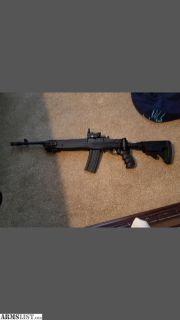 For Sale: Ruger mini 14 with tactical stock
