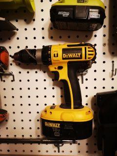 DeWalt Tools - drill, circular saw, router