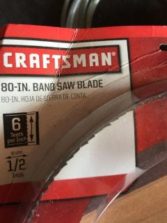 Craftsman Band Saw Blades