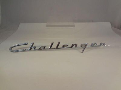 Buy USED Studebaker Challenger Chrome Script Emblem Nameplate G-217 motorcycle in Youngwood, Pennsylvania, US, for US $29.99