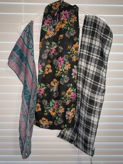 Set of 3 Infinity Scarves NEW with tags (3 sets available)