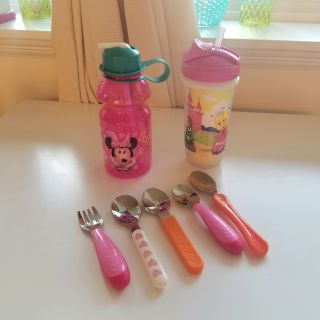 Utensil and Sippy Cup Lot