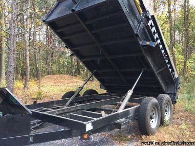 Dump trailer EZ lube hubs