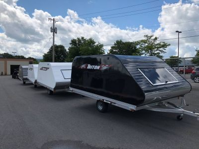 2018 Triton Trailers XT11-101 SQ Trail/Touring Sport Utility Trailers Herkimer, NY