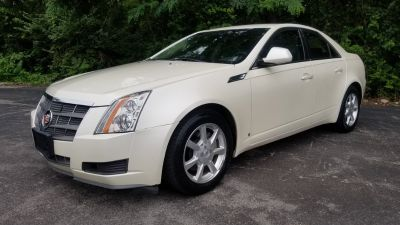 2008 Cadillac CTS 3.6L V6 (White)