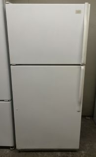 Whirlpool 18cu.ft Top Freezer Refrigerator in White