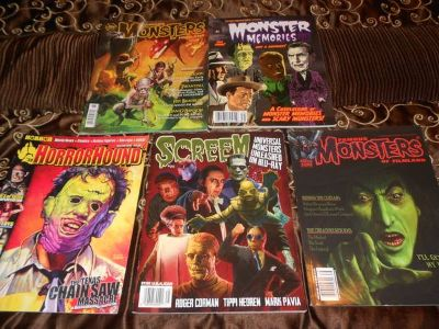 Fangoria and Horror Back issues