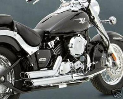 Purchase Vance & Hines Shortshots Staggered System Fits 04-05 Yamaha XVS650 V-Star Custom motorcycle in Holland, Michigan, US, for US $341.95