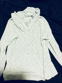 Mint pull over hoodie