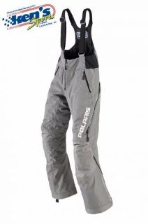 Find POLARIS Women's Grey INSULATED THROTTLE Snowmobile Bibs / Pants 2865030_ motorcycle in Kaukauna, Wisconsin, United States, for US $112.99