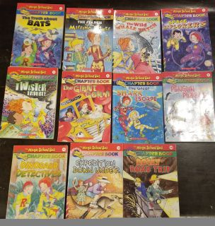 11 Magic School bus chapter books