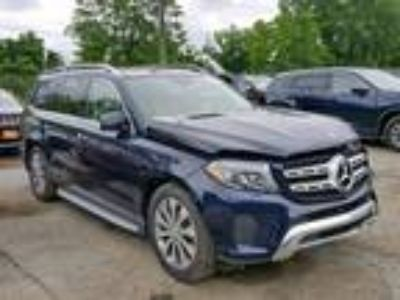 Salvage 2017 MERCEDES-BENZ GLS 450 4MATIC for Sale