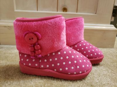 Brand New pink boots size 10